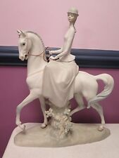 "LLADRO ""FEMALE EQUESTRIAN"" SIDESADDLE LADY ""AMAZONA 4516"" RETIRED"