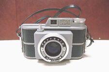 Midcentury Ferrania Ibis Rangefinder Camera Aluminum Made in Italy c. 1950