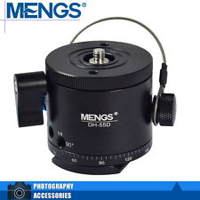 MENGS DH-55D Camera Panoramic Ball Head Indexing Ball Head (5°- 90°) For Tripod