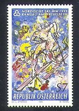 Austria 1999 Nordic Skiing/Winter Sports/Animation 1v (n37653)
