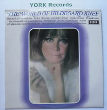 HILDEGARD KNEF - The World Of .... - Excellent Condition LP Record Decca SPA 181
