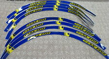 Skin Industries Rim Decals Stickers For Yamaha YZ Color Blue