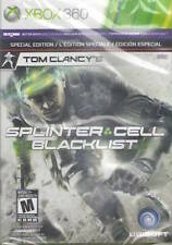 TOM CLANCY'S SPLINTER CELL: BLACKLIST SPECIAL EDITION NEW & SEALED XBOX 360