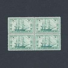 """""""Old Ironsides"""" US Frigate Constitution - Vintage Mint Set of 4 Stamps From 1947"""