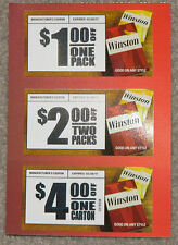 WINSTON CIGARETTE COUPONS $7  IN SAVINGS  EXPIRE 2/28/17
