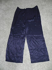 LANE BRYANT CASUAL RAYON NAVY PANTS WOMENS PLUS SIZE 18/20 INSEAM 31 NWT $59.95