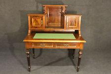 Schreibtisch Aufsatz Gründerzeit Louis Philippe originaler Zustand Nussbaum 6204