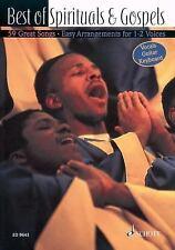 Best of Spirituals and Gospels : 59 Great Songs in Easy Arrangements (2003,...