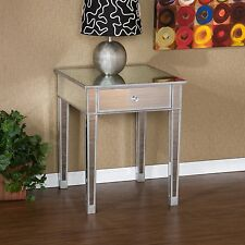 Southern Enterprises Mirage Mirrored Accent table, OC9168R New