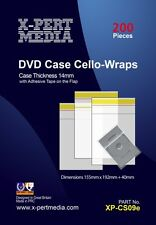 DVD Clear Wraps For 14mm Case ( Pack of 200 )