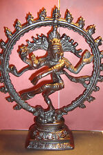 Large Heavy Resin ,Indian Dancing Natraj  Shiva  Figure~Buddha~uk seller~