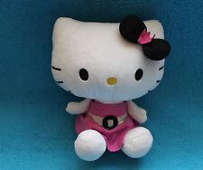 Hello Kitty mit Kleid Sanrio Stofftier Schmusetier Kuscheltier Plüsch RAR TOP