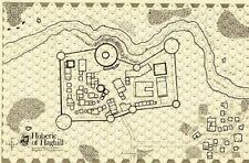D&D Judges Guild Huberic of Haghill Booklet K Map!