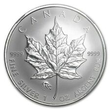 2008 1 oz Canadian Maple Leaf Lunar RAT Privy Silver Coin