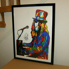 Leon Russell, Vocals, Piano, Guitar, Blues Rock, Folk Rock, 18x24 POSTER w/COA