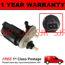 FOR VAUXHALL OPEL VECTRA C 2003- FRONT REAR TWIN OUTLET WINDOW WASHER FLUID PUMP