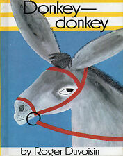 DONKEY-DONKEY by Roger Duvoisin   1968 Hcvr Parent's Magazine Press