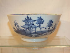 ANCIEN BOL BLEU CHINOIS EN PORCELAINE - OLD CHINEESE BOWL