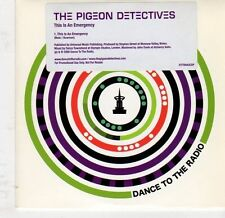 (EJ860) The Pigeon Detectives, This Is An Emergency - 2008 DJ CD