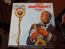 LOUIS ARMSTRONG'S STORY 1924-1945 BOX SET 5 LP