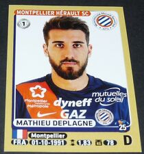 N°269 DEPLAGNE MONTPELLIER MHSC MOSSON PAILLADE PANINI FOOTBALL FOOT 2015-2016