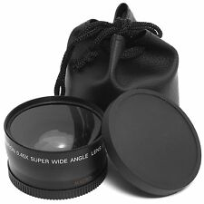 58mm 0.45X Wide Angle Macro Lens for Canon EOS 500D 1100D Rebel T1i T2i XTi XSi