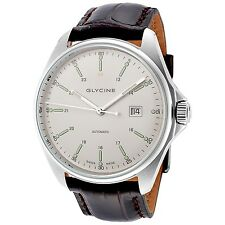 Glycine Men's 3890.11.LBK7F-WL Combat 6 Automatic 43mm Mineral Crystal Watch