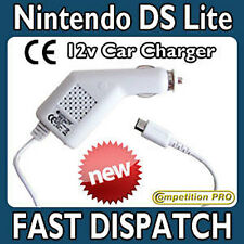 CE Competition Pro 12v In Car Charger Adapter For Nintendo DS Lite WHITE (NEW)