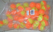 "New 12 Danielson Float Bobber Fishing 1 Dozen Fluoresent 2"" Snap on"