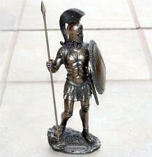 VERONESE ART GREEK SPARTAN Warrior HOPLITE Spear Shield STATUE FIGURE FIGURINE