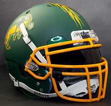 *CUSTOM* NORTH DAKOTA STATE BISON Schutt XP REPLICA Football Helmet w/ROPO-DW