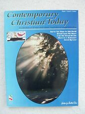 Cont Christian Today 32 New Classic Song Voice Piano Unused