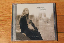Sacred Christian Hymns Instrumental CD Violin Piano FOR YOU Alicia Arnold Rattin