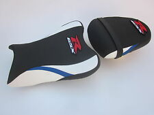 S06 Suzuki GSXR 600 750 K8,K9,K10 seat cover upgrade White Blue Black -SET