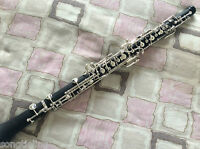 NEW composite wood Semiautomatic Oboe Silver Plated C Key