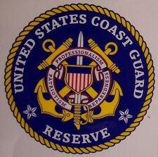 Window Bumper Sticker Military Coast Guard Reserve NEW Decal
