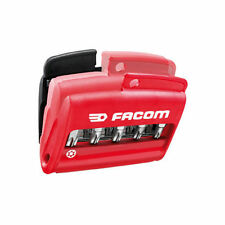 Facom 11 Piece Screwdriver Bit Set Slotted / Pozi / Torx With Compact Case