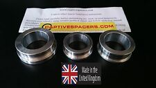 Suzuki GSXR 1000  2009 - 2015 Captive race wheel Spacers. Full set. UK made.