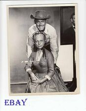 Chuck Connors The Rifleman Agnes Moorehead  VINTAGE Photo Ep: Miss Bertie