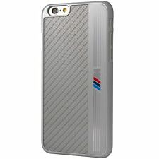 BMW M COLLECTION Hard Shell Case for iPhone 6 Plus & iPhone 6s Plus (Sliver) NEW