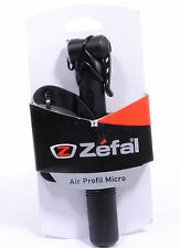 Zefal Air Profil Micro Mini Bicycle Pump, 100 PSI, Black