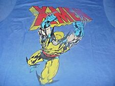 X-Men Men's KO Marvel Comics Wolverine Vintage Blue T-Shirt Size 2XL
