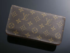G5632M Authentic Louis Vuitton Monogram Zip-Around Long Wallet