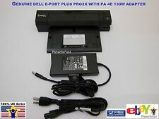 Dell Docking Station PR02X E Port Plus Replicator with PA-4E FAMILY Adapter