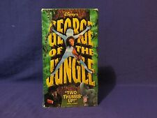 Disney's George of the Jungle VHS Movie 1997 Brendan Fraser Rated PG