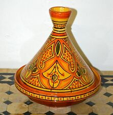 Moroccan Ceramic Tagine Tajine Chicken Tangia Steam Cook Ware Clay Pot Tangine