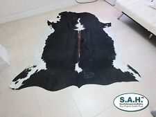 New Cowhide Rug Cowskin ExoticTricolor Cow Hide Leather 7398D