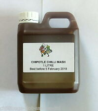 """CHIPOTLE CHILLI MASH"" 1 Litre - For BBQ sauce making"