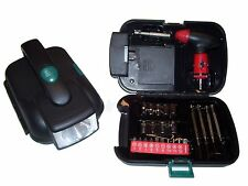 All In One Emergency Flashlight Tool Box Screwdriver/Ratchet Home/Auto/Boat Set