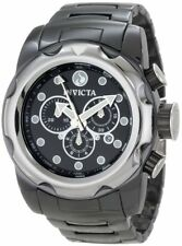 INVICTA SPORT CHRONOGRAPH DATE BLACK DIAL CERAMIC ST.STEEL MEN'S WATCH 0315 NEW